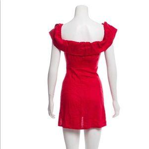 Reformation Dresses - Reformation Red Mini Dress